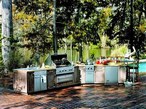 Backyard Kitchen Ideas Outdoor Kitchen Ideas D S Furniture