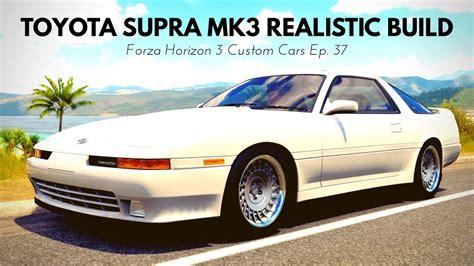 custom mk3 supra toyota supra mk3 drift build forza horizon 3