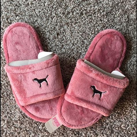 vs pink slippers pink s secret pink by s secret pink