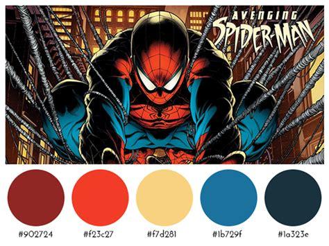 comic book colors comic books color palettes on behance color schemes to