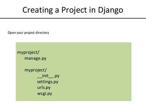 creating new django project getting started with django 1 8