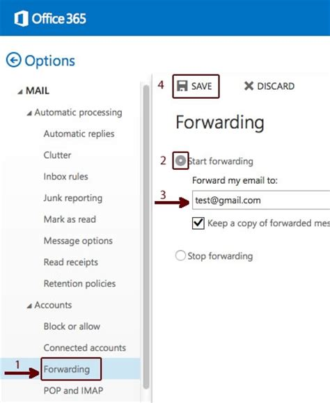 Office 365 Mail Forwarding Office 365 Mail Auto Forward 28 Images A Second Update