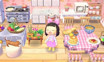 Living Room Acnl Animal Crossing Kitchen