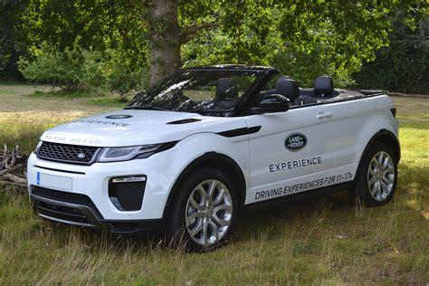 range rover evoque driving experience 30 minute junior road range rover evoque convertible