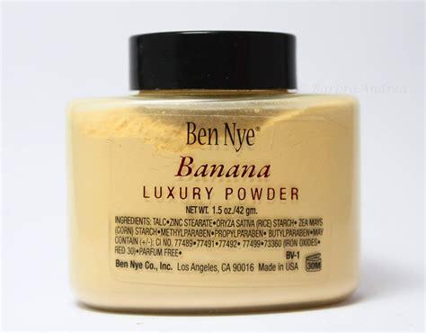 City Color Banana Powder ben nye banana powder archives nazninazeez