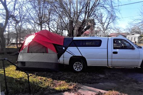 truck bed canopy rightline gear suv tent with rainfly waterproof sleeps