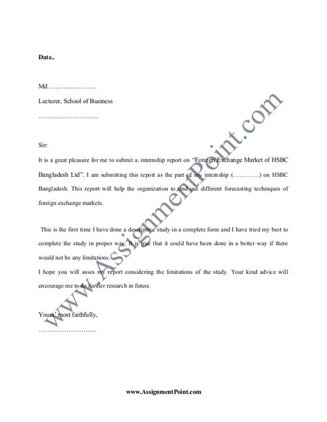 Hsbc Mba Internship by Report On Foreign Exchange Market Of Hsbc Bangladesh Ltd