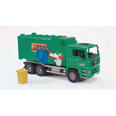 bruder garbage truck bruder garbage truck load toys unique