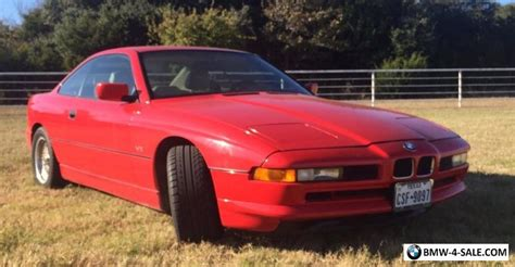 1991 bmw 8 series for sale in united states