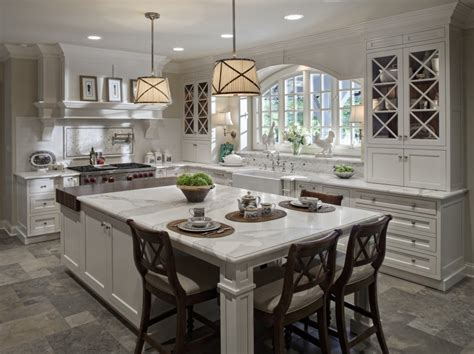 space around kitchen island 32 magnificent custom luxury kitchen designs by drury design