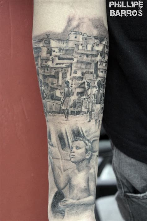 tattoo 3d rio de janeiro favela rio de janeiro tattoo tatuagem phillipe barros