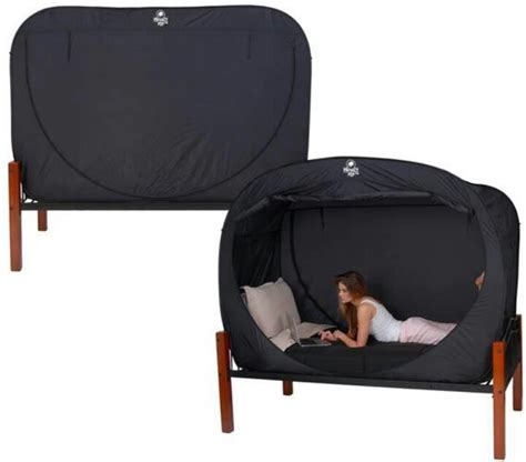 privacy pop tent bed privacy pop up tent basement pinterest
