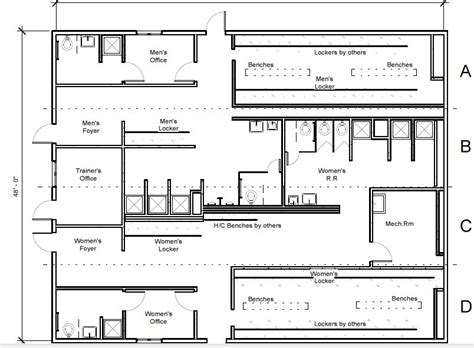 locker room floor plan locker room plan inspiration kelsey bass ranch 10594