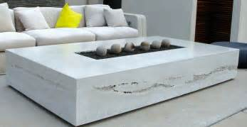 Mid Century Modern Outdoor Fireplace - concrete outdoor living projects cheng concrete exchange