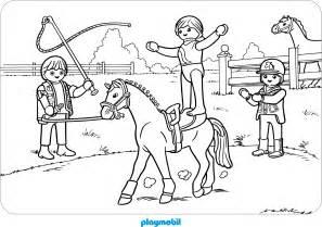 playmobil ausmalbild pferd