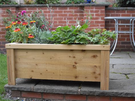 Wooden Garden Troughs And Planters by Wooden Garden Troughs Planters Ashbrook Woodcraft