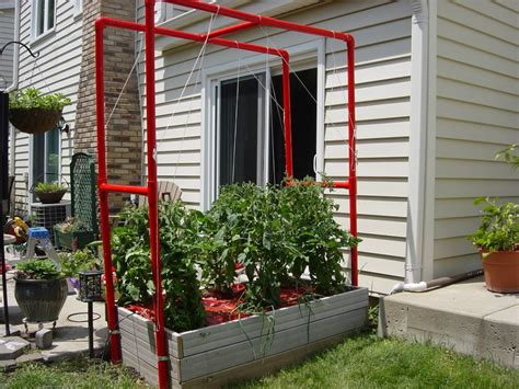 pvc trellis systems outdoor decorations  simple