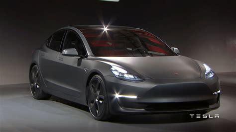 Tesla Ivender Iii Authentic 1 tesla model 3 finally unveiled motor1