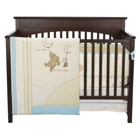 Classic Winnie The Pooh Crib Bedding Set Gorgeous Themes For Your Baby Boy S Bedding Nursery Happy Babies Sleeping