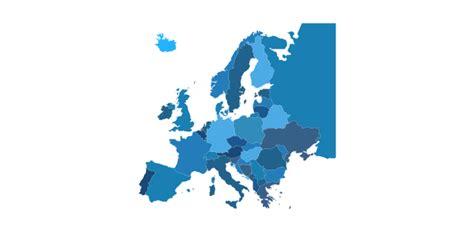 europe vector stencils library