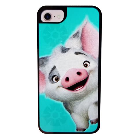 disney customized phone case moana pig pua