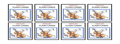 printable violin note flash cards complete set violin flash cards printable denley music