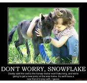 DONT WORRY SNOWFLAKE Daddy Said The Visit To Horsey Doctor Wont