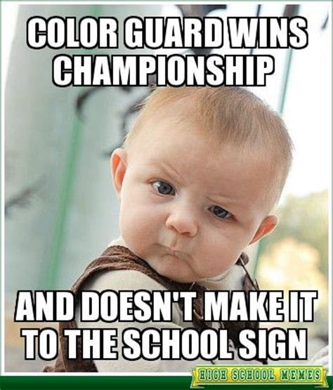 Color Guard Memes - 44 best school memes funny photos images on pinterest