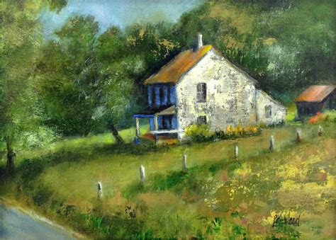 painting of house q a with painter peggy weed the art league blog