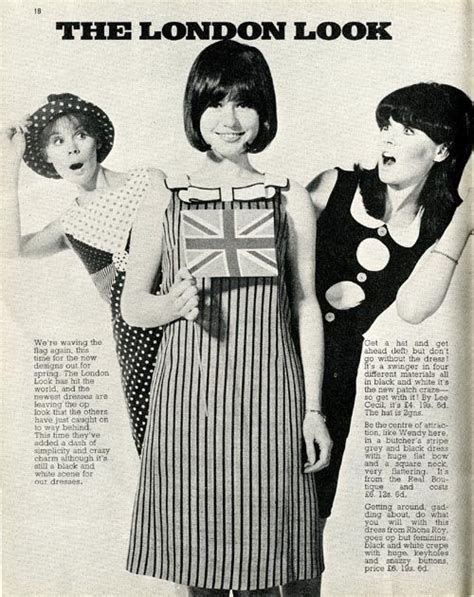 swinging london fashion swinging london fashions in rave magazine 1966