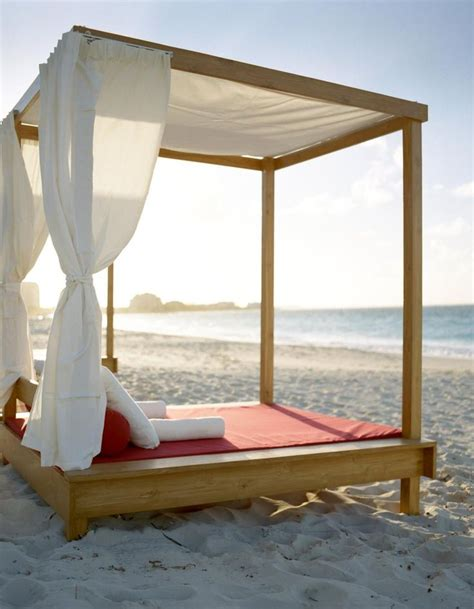 bed on the beach bed on the beach in the caribbean places i wisht to be