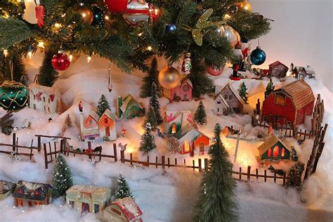 where to buy christmas village houses toys from under christmas trees of yore east hton village 27east