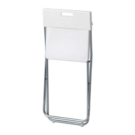ikea sedia pieghevole ikea gunde sedia pieghevole colore bianco accessori