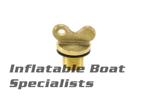 inflatable boat drain plug achilles inflatable boat parts brass wingnut drain plug