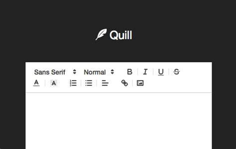 javascript tutorial rich text editor quill another great standalone javascript rich text editor