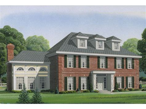 Colonial House Design Plan 054h 0052 Find Unique House Plans Home Plans And