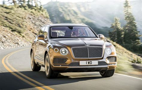 bentley bentayga new images and details with the fastest
