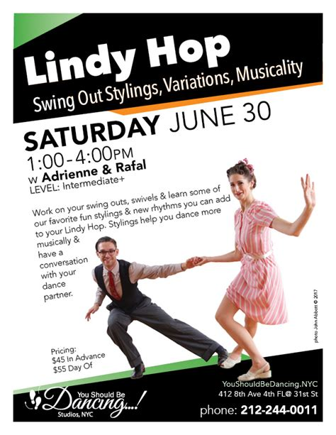 Lindy Hop Swing Out by Lindy Hop Swing Out Stylings Variations Musicality