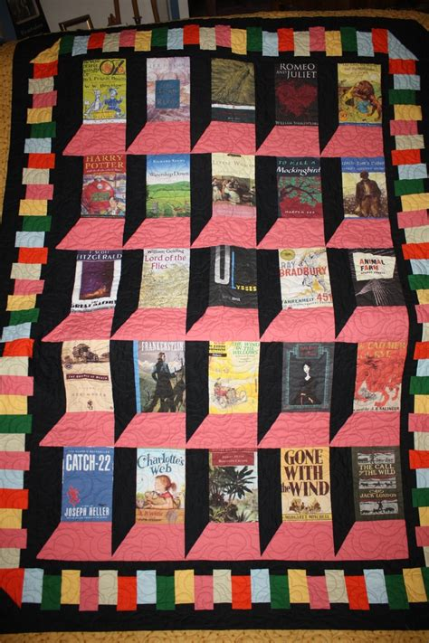 Quilt Books by Library Book Quilt For The Home