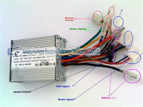 electric bicycle controller wiring diagram electric free