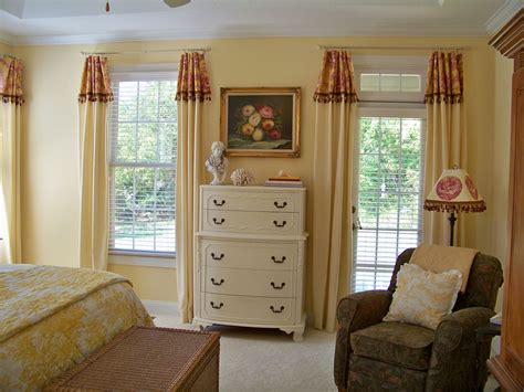 bedroom valance ideas the comforts of home master bedroom curtain reveal