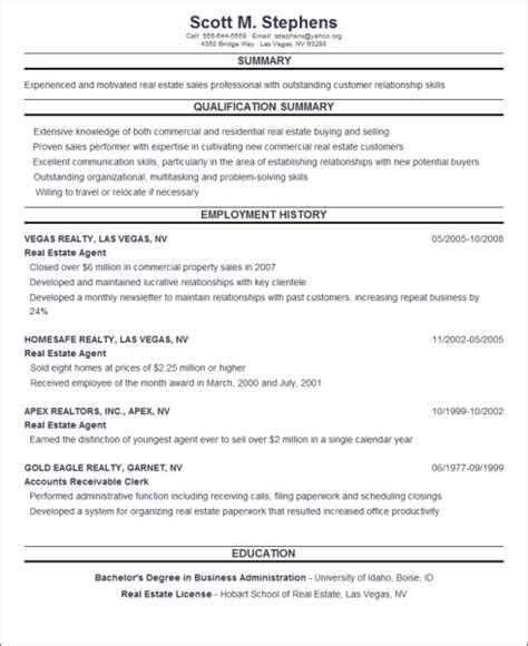 resume builder free printable resume free learnhowtoloseweight net