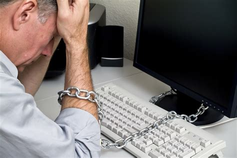 Chained To The Desk by Feeling Chained To Your Desk Let Cloud Communications Set You Free