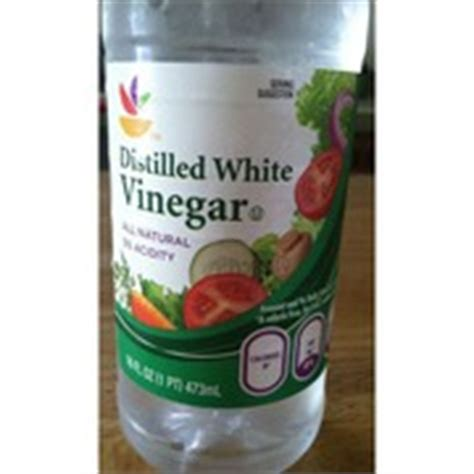 stop shop vinegar distilled white calories nutrition