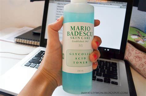Toner Mario Badescu mario badescu glycolic acid toner feelings imhayleywon