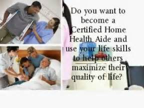 certified home health aide become a certified home health aide in nj
