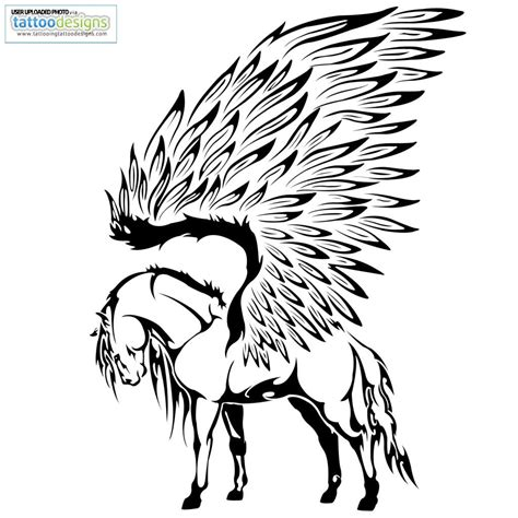 design by humans founder tribal pegasus tattoo lettrine pinterest p 233 gase fer