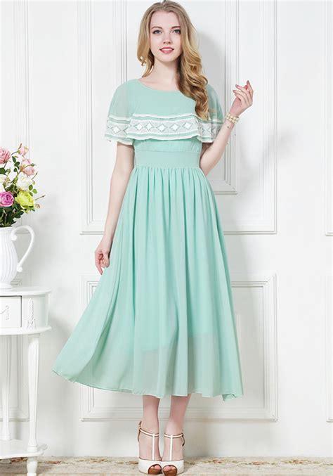 light green dress with sleeves light green plain sleeve chiffon maxi dress dresses