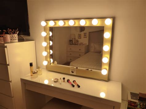 Vanity Mirror With Lights by Lighted Vanity Mirror Large Makeup Mirror With