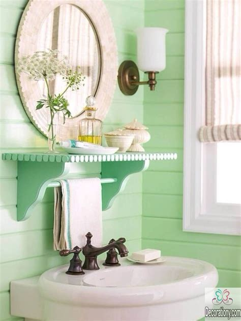 pictures of green bathrooms 10 affordable colors for small bathrooms decoration y